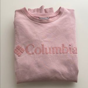 Columbia Sportswear M Pink Crewneck